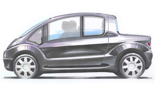 Prototipo Auto aria compressa